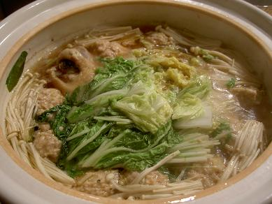 鶏肉&団子鍋