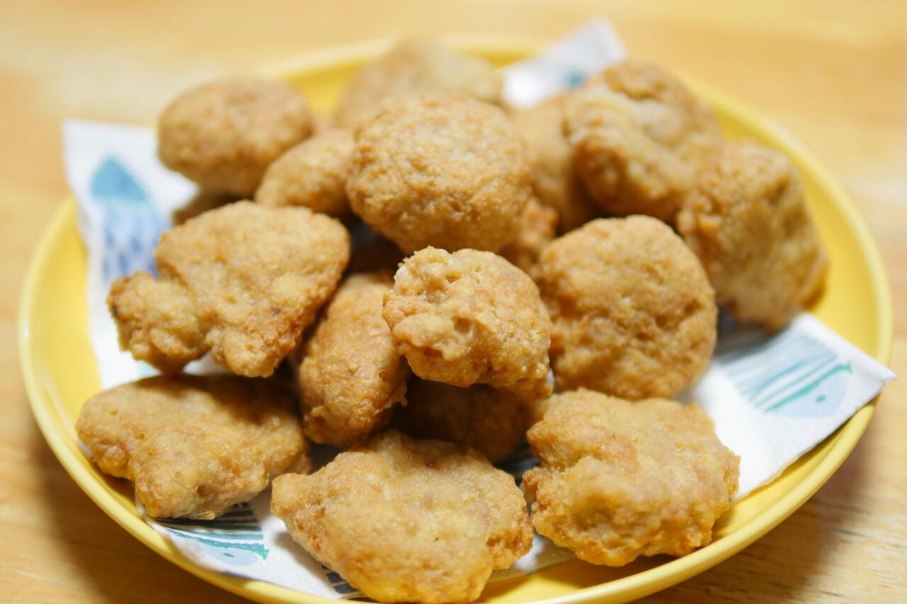 チキンナゲット豆腐