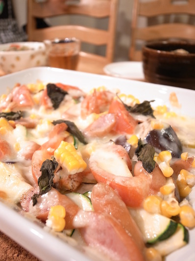 夏野菜のグリル焼き