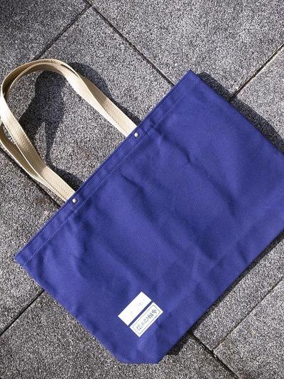 コラボトートバッグ紺b