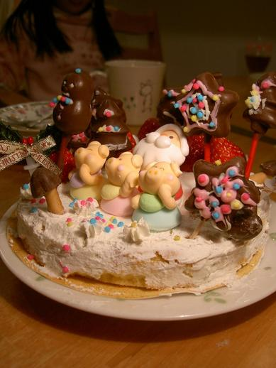 ユリ蔵ケーキ2008b