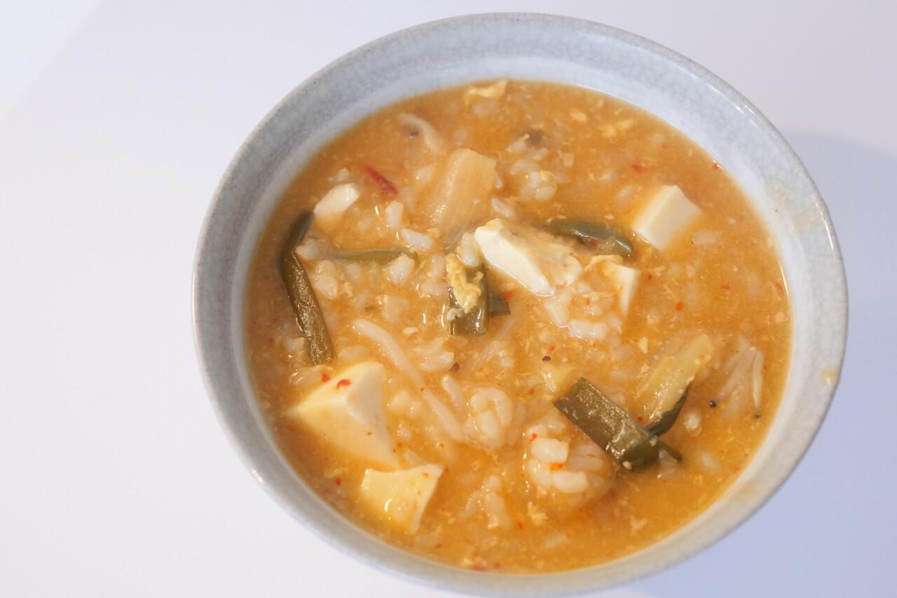 チゲ鍋雑炊