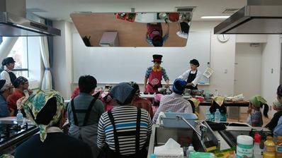ケンコーマヨネーズさん料理教室