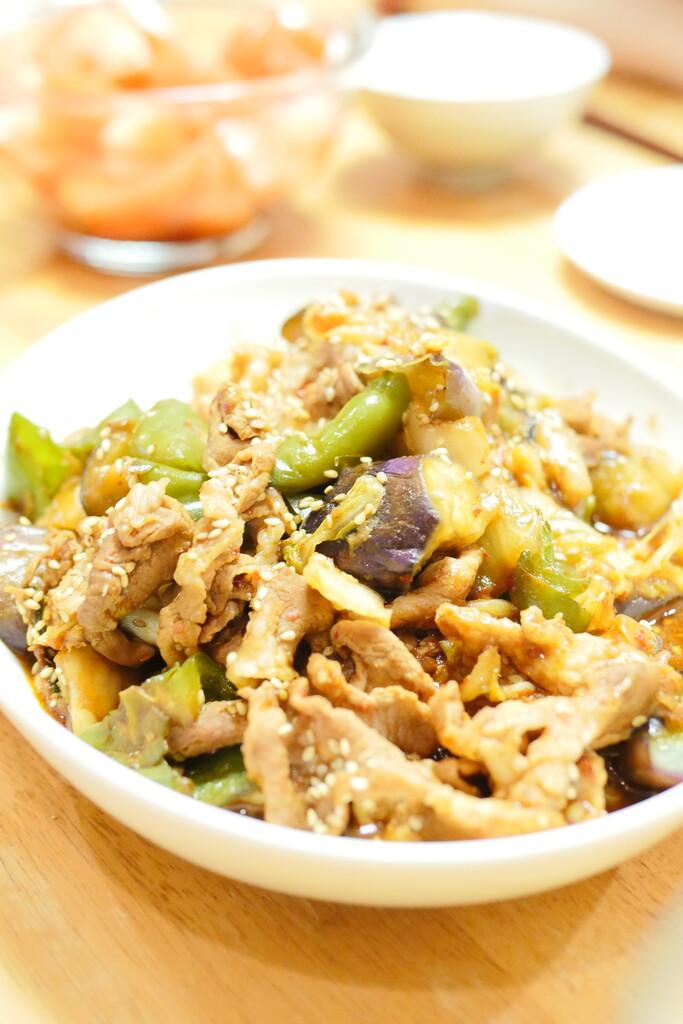 豚キムチ炒め2