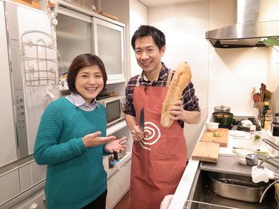 パパ料理研究家滝村雅晴と林家きく姫さん