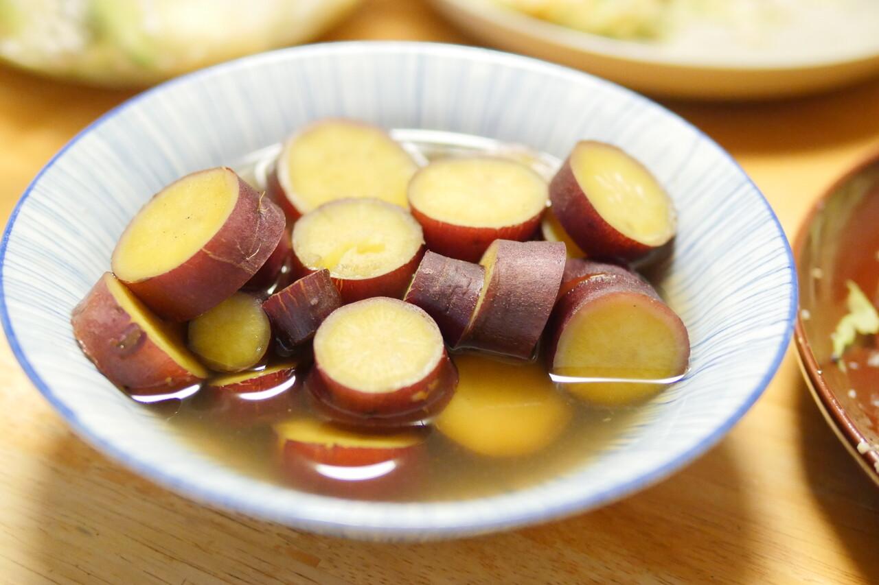 サツマイモのハチミツ煮2