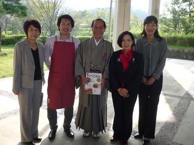 日本女性会議ビストロパパ京都市長