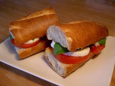 カプリ風サンドイッチ