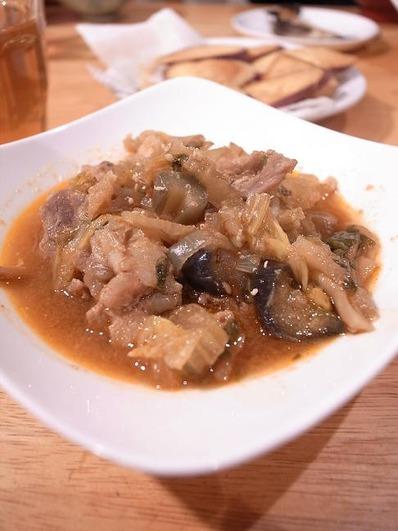 豚バラと白菜のピリ辛味噌煮b
