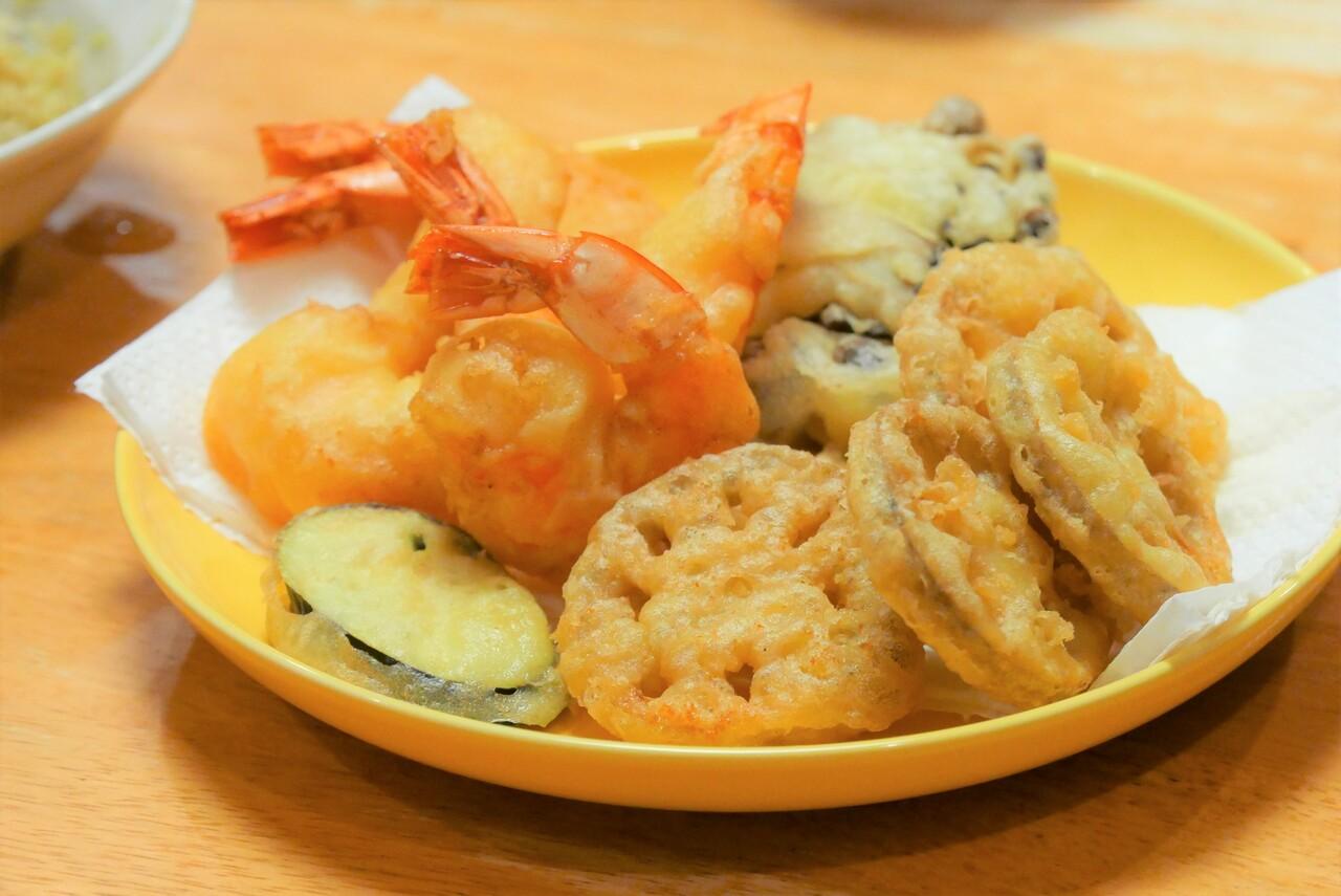 米粉海老天ぷら