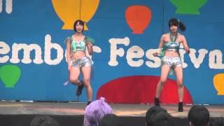 【美女】セクシー衣装の美女のダンスが抜ける!