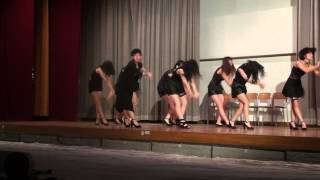 【JK文化祭】垢抜けないJK達がセクシーダンス!