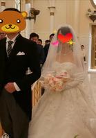 結婚式当日 (2)