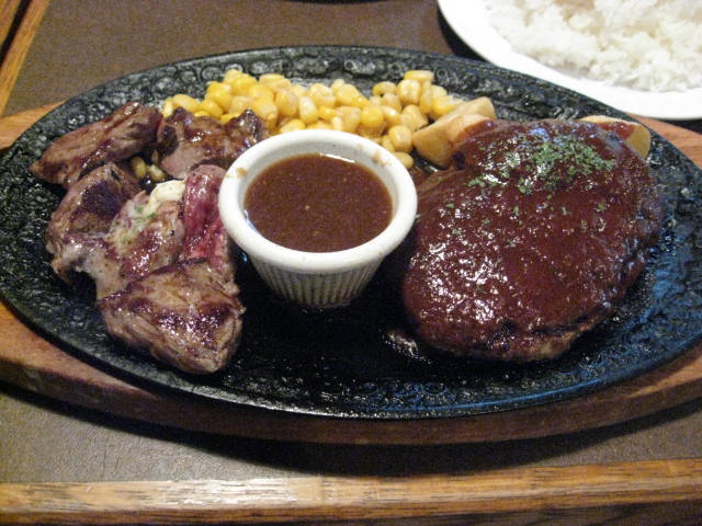 ステーキ&ハンバーグ