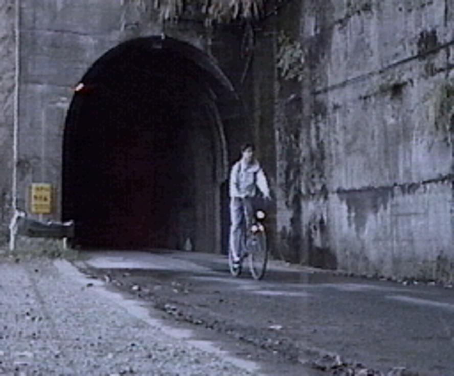 奥米隧道(1995年・自分チャリ)