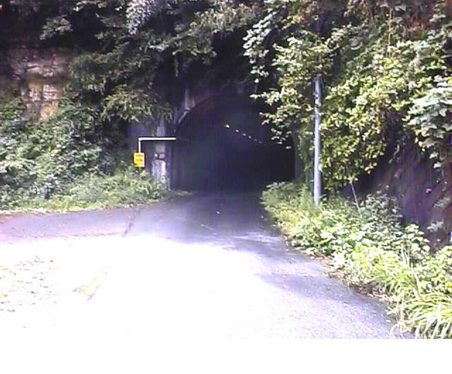 奥米台隧道(1997年9月11日撮影)