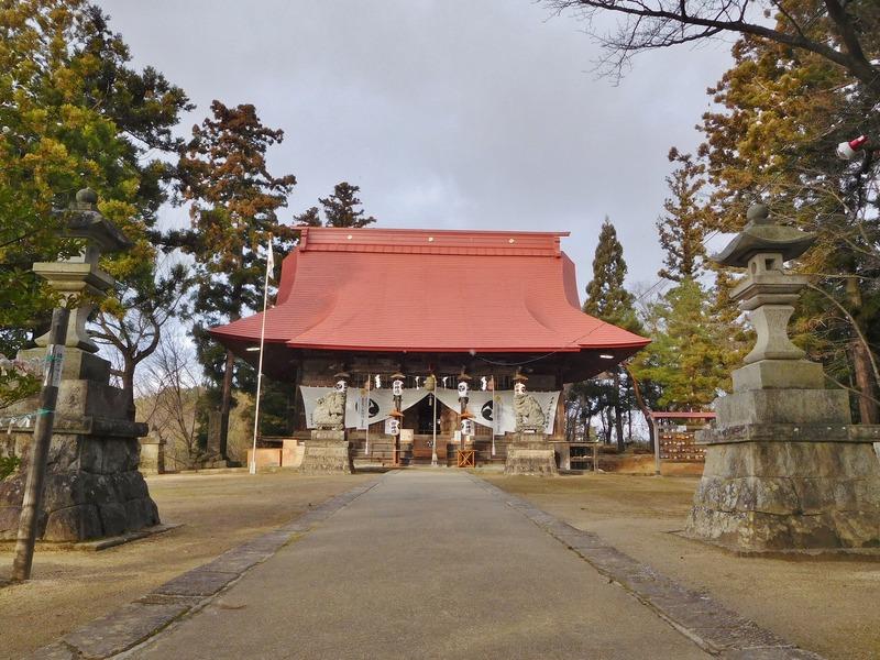喜久田     隠津島神社