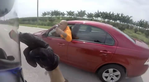 Road rage and getting assaulted