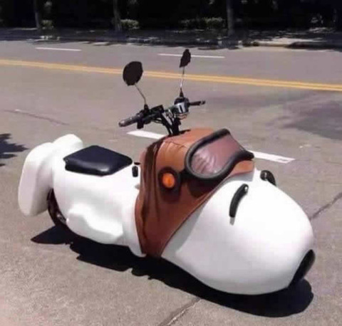 snoopy_scooter