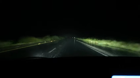 Tesla Auto Pilot Spin Out