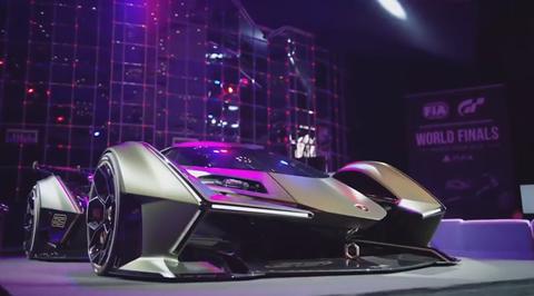 Lamborghini Lambo V12 Vision Gran Turismo Reveal