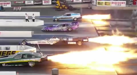 INSANE Drag Races of All time