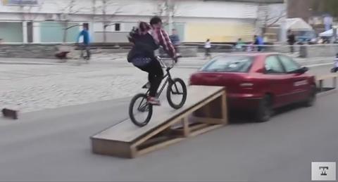 Bike Trick Fail