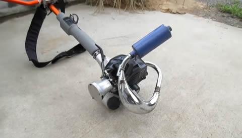 mowing machine