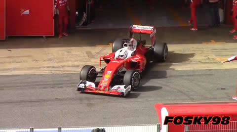 F1 2016 Test Montmeló Day 1 Pure Sound HD