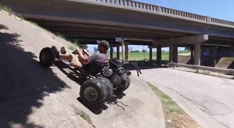 6 Wheel Hill Climbing Go-Kart