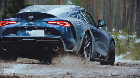 BRAND NEW SUPRA A90 JUMPING IN WOODS (ROBYWORKS)