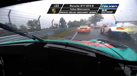2020 Porsche 911 GT3R onboard