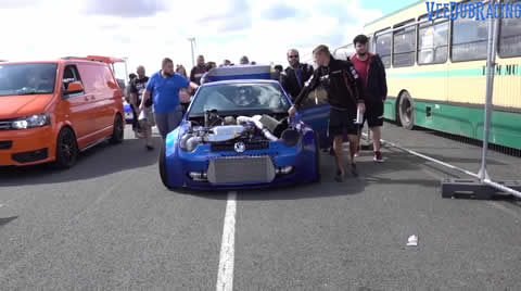 1800bhp TWIN ENGINED VW LUPO