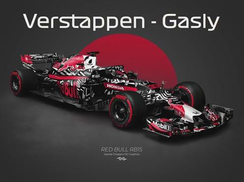 F1 2019 Concept Liveries