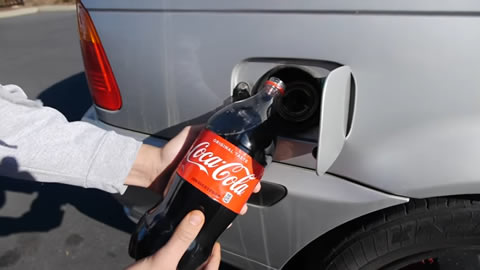What Happens If You Fill Up a Car with Coca-Cola