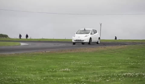 Will it Drift_Nissan Leaf