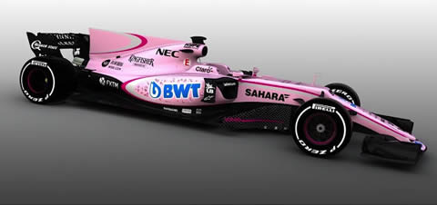 NUEVO FORCE INDIA ROSA