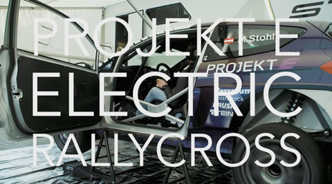 ELECTRIC Rallycross! EV Rally X world exclusive