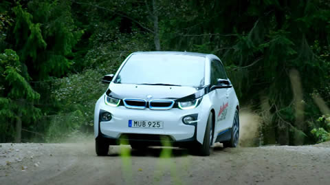 BMW i3 Drifting