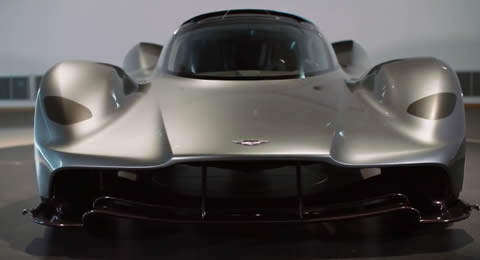 Aston Martin unveil AM-RB 001 hypercar