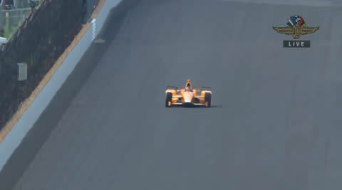 Fernando Alonso tests Indycar for the first time ever