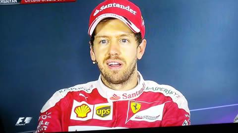 Vettel pregunta sobre Le Mans