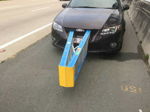 Stepladder bumper