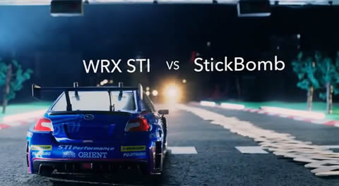 wrx_sti_vs_stickbomb