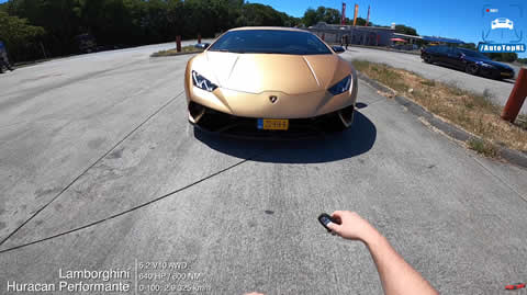 LAMBORGHINI Huracan Performante TOP SPEED