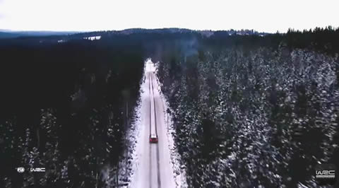 Rally Sweden 2017 AERIAL Special