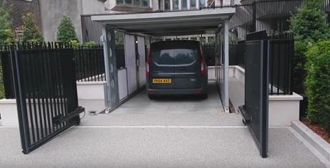 Invisible car lift