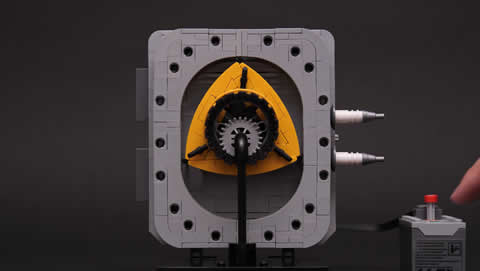 Lego Rotary Engine (Wankel Engine)