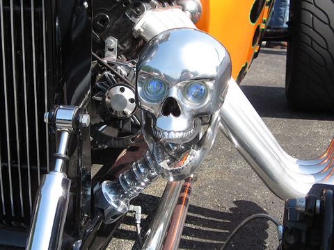 skull-headlight
