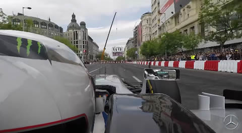 Budapest City Centre with Valtteri Bottas